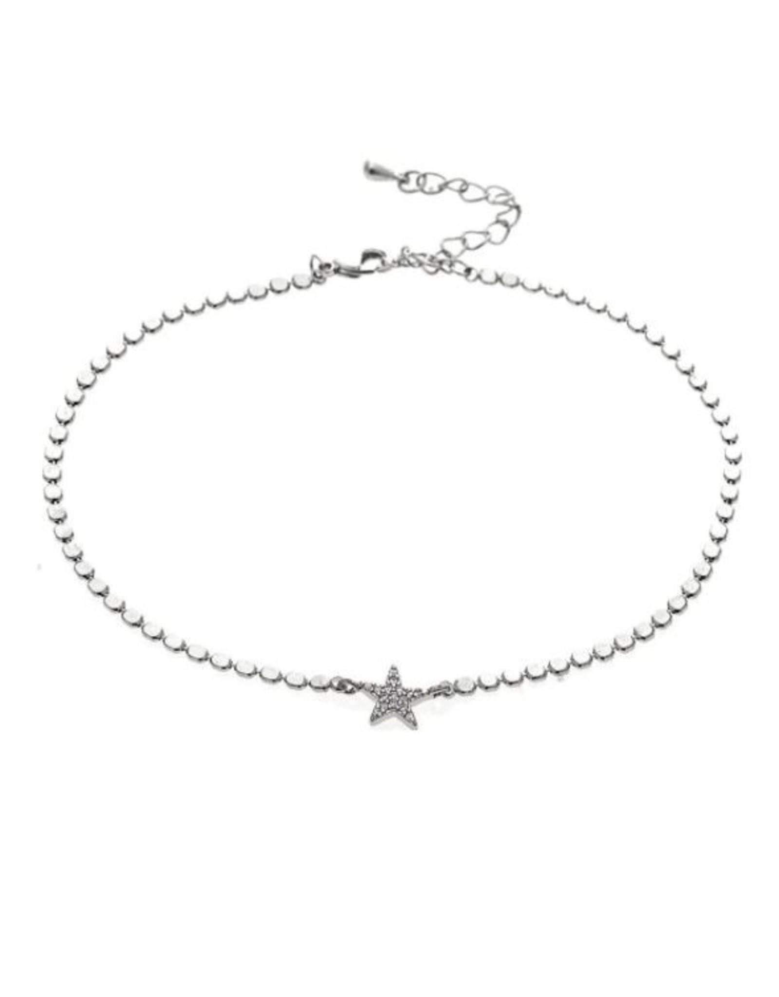 Rain Jewelry CRYSTAL STAR CHARM ANKLET