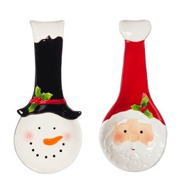 Evergreen HOLIDAY SPOON REST 2A