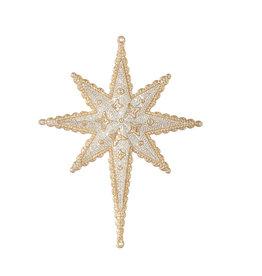 Raz Imports CHRISTMAS STAR ORNAMENT