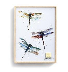 Demdaco DRAGONFLIES WALL ART