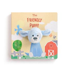 Demdaco THE FRIENDLY PUPPY FINGER PUPPET BOOK