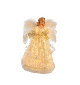 Kurt Adler IVORY ANGEL TREETOP