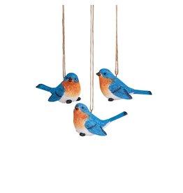 C and F Enterprises BLUEBIRD SONGBIRD ORNAMENT