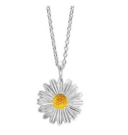 Boma YELLOW SUNFLOWER NECKLACE 16+2