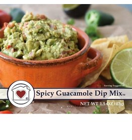 Country Home Creations SPICY GUACAMOLE DIP MIX