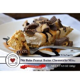 Country Home Creations NO BAKE PEANUT BUTTER CHEESECAKE