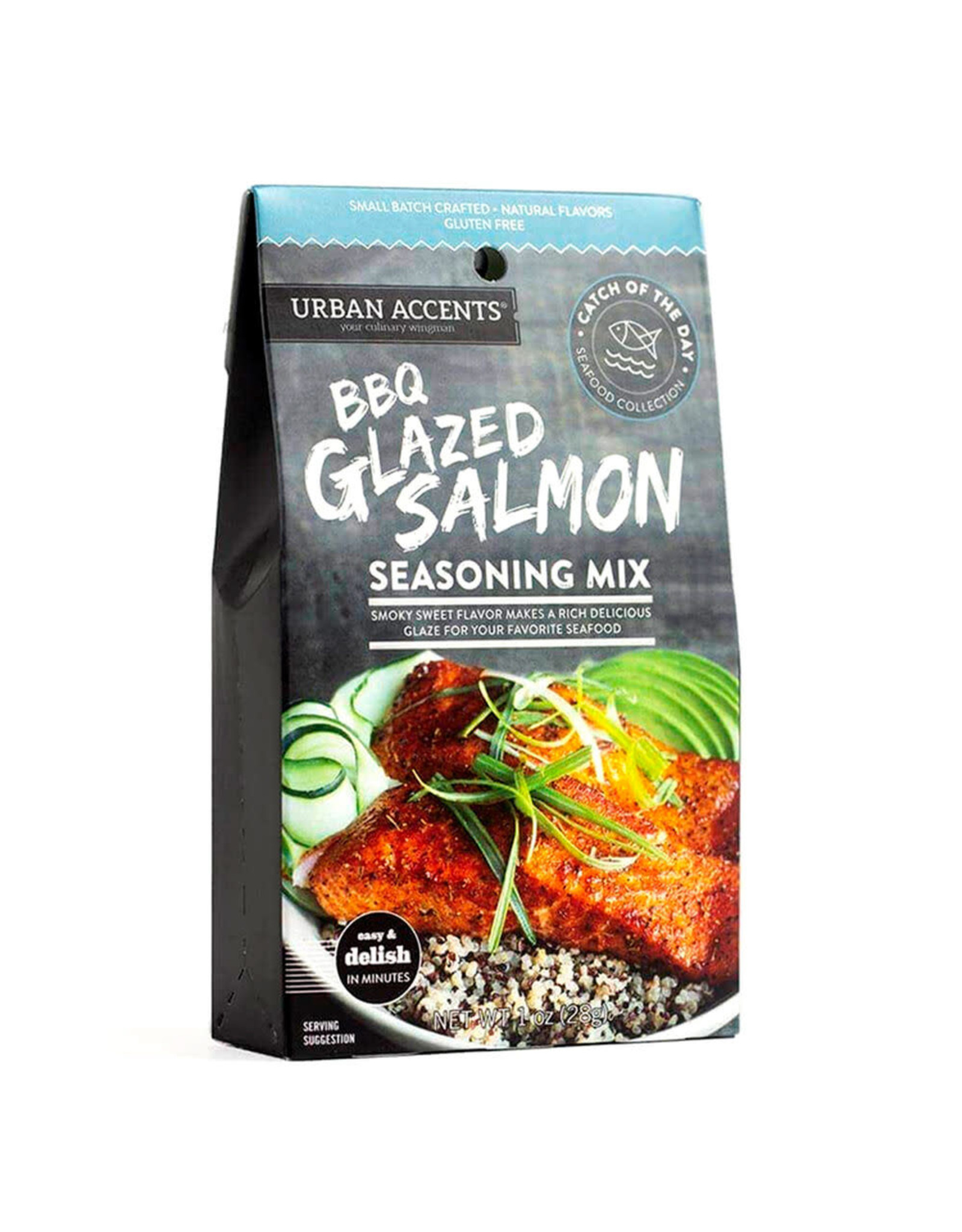 Urban Accents BBQ GLAZED SALMON SEASONING MIX