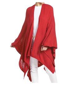 TGB / Good Bead KIARA LIGHTWEIGHT CARDIGAN RED