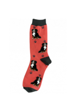 E and S BERNESE MOUNTAIN DOG HAPPY TAILS SOCKS