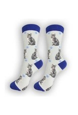 E and S CAT HAPPY TAILS SOCKS
