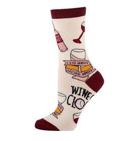 JY Socks PUT A CORK  IN IT SOCKS