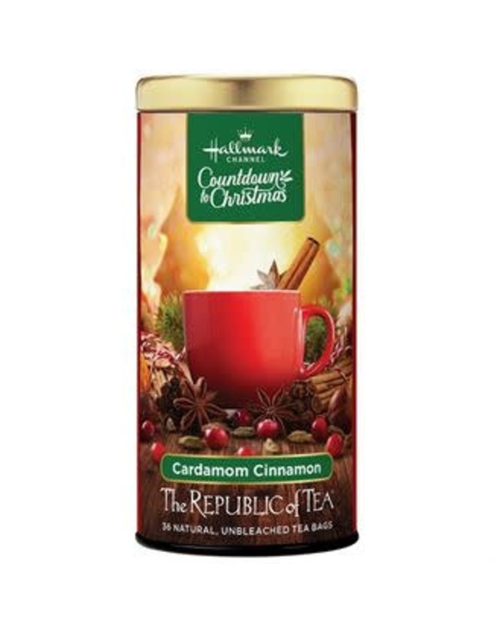 Republic of Tea HALLMARK CARDAMON CINNAMON TEA