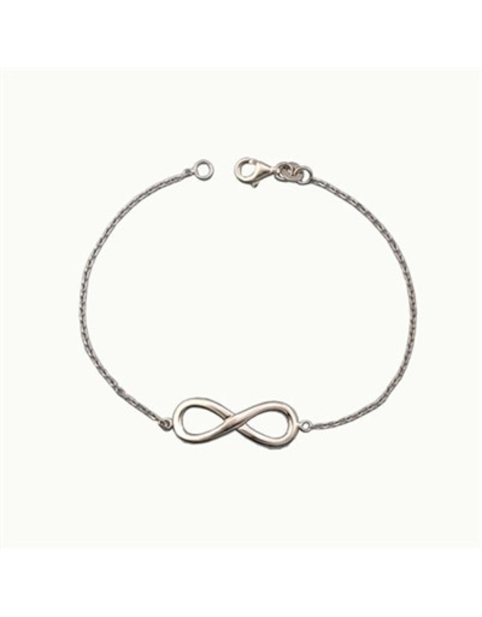 Chain and Hoop/Siloro INFINITY BRACELET