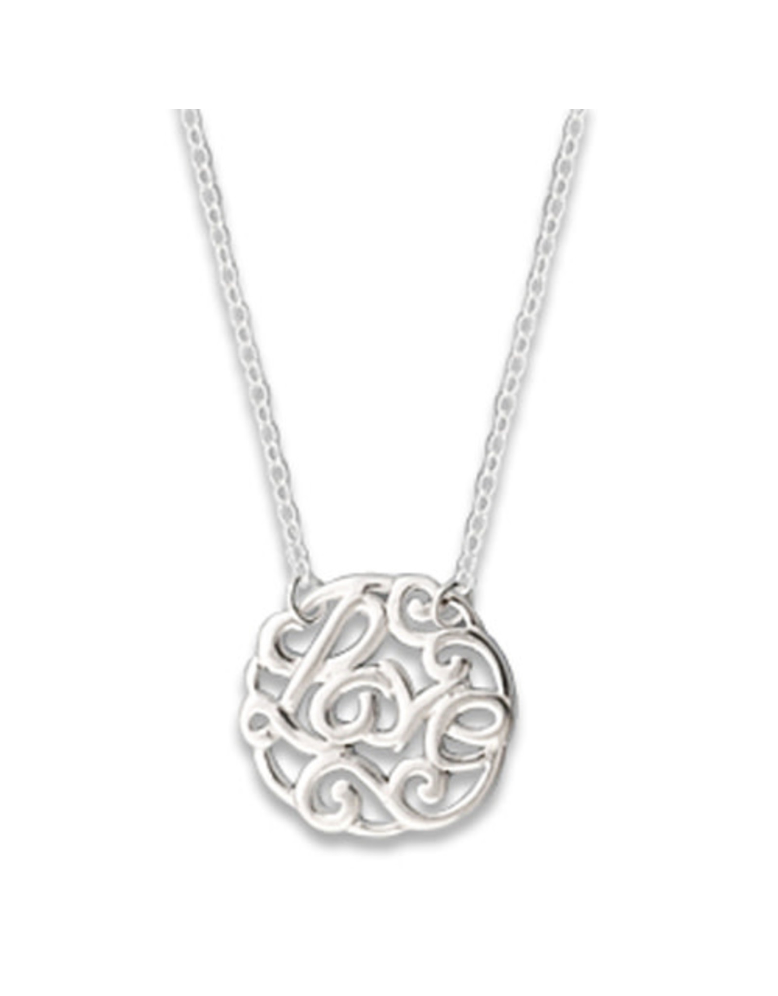 Chain and Hoop/Siloro LOVE NECKLACE
