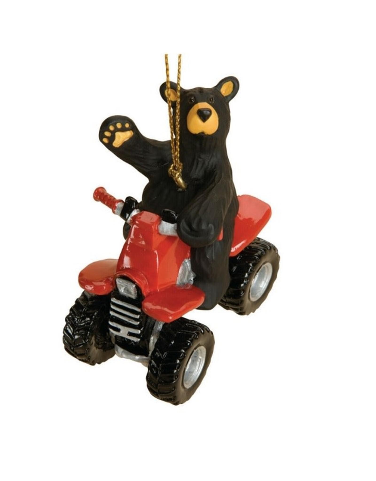 Demdaco ATV BEAR ORNAMENT