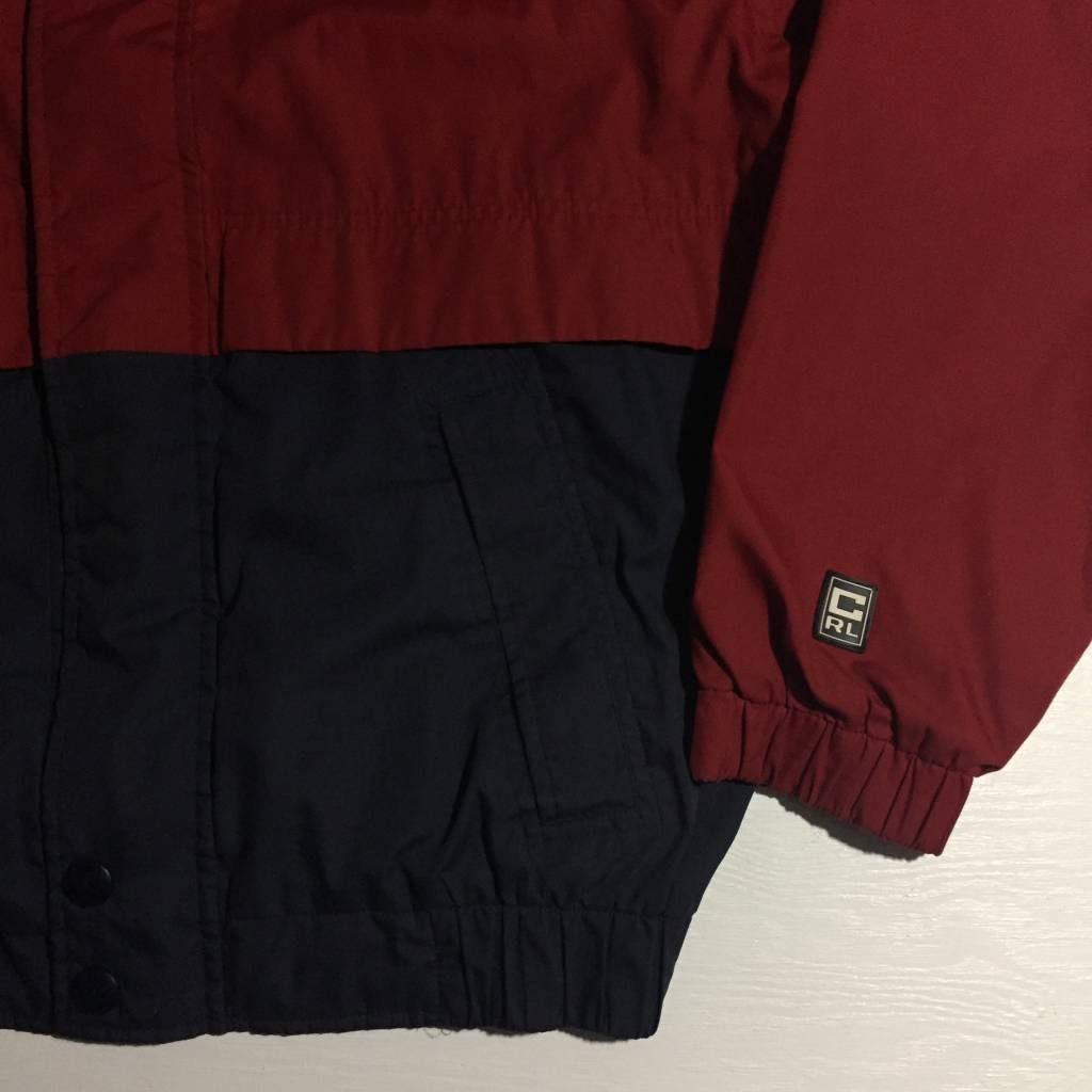 2ND BASE VINTAGE Chaps by Ralph Lauren Lined Track Jacket size LG