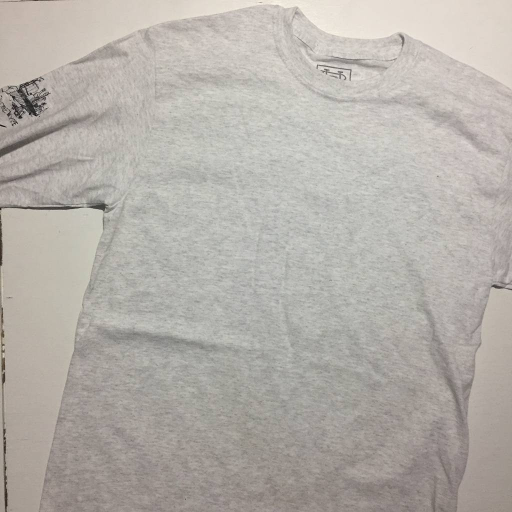 HOMEBASE SOFTGOODS Sponsored LS T-Shirt Ash Grey