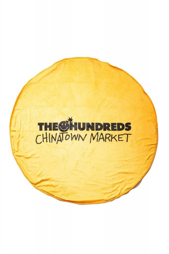 THE HUNDREDS Happy Blanket Yellow
