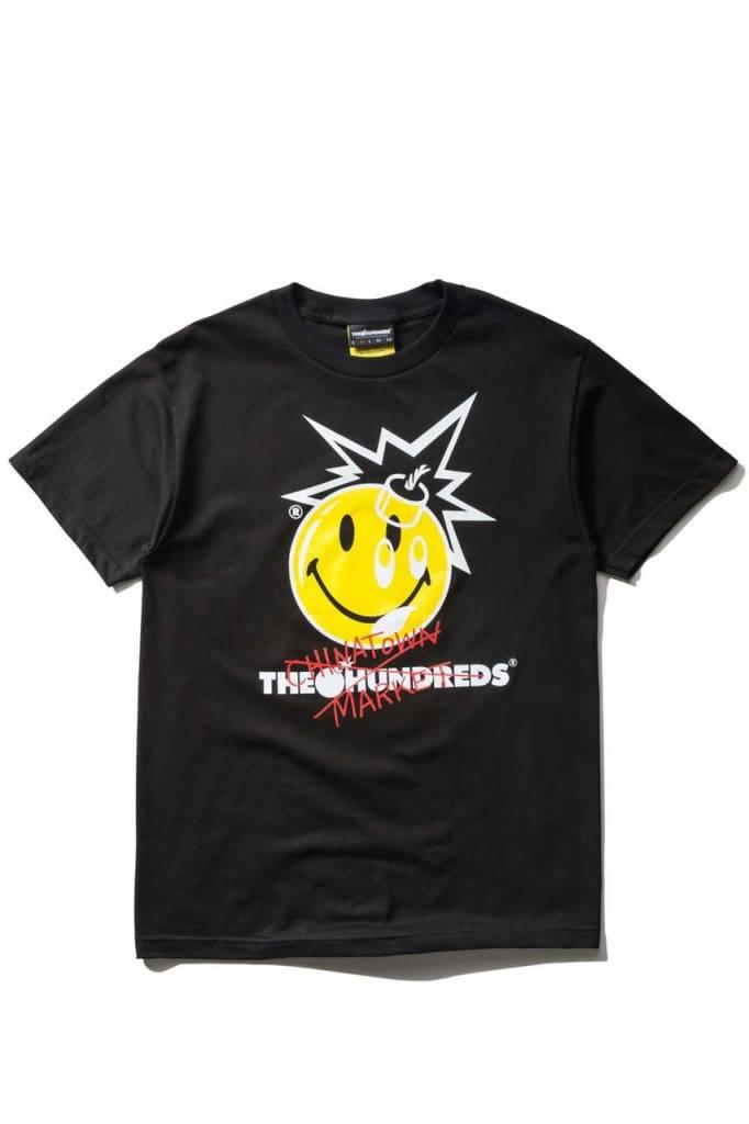 THE HUNDREDS Crossout Adam T-shirt Black