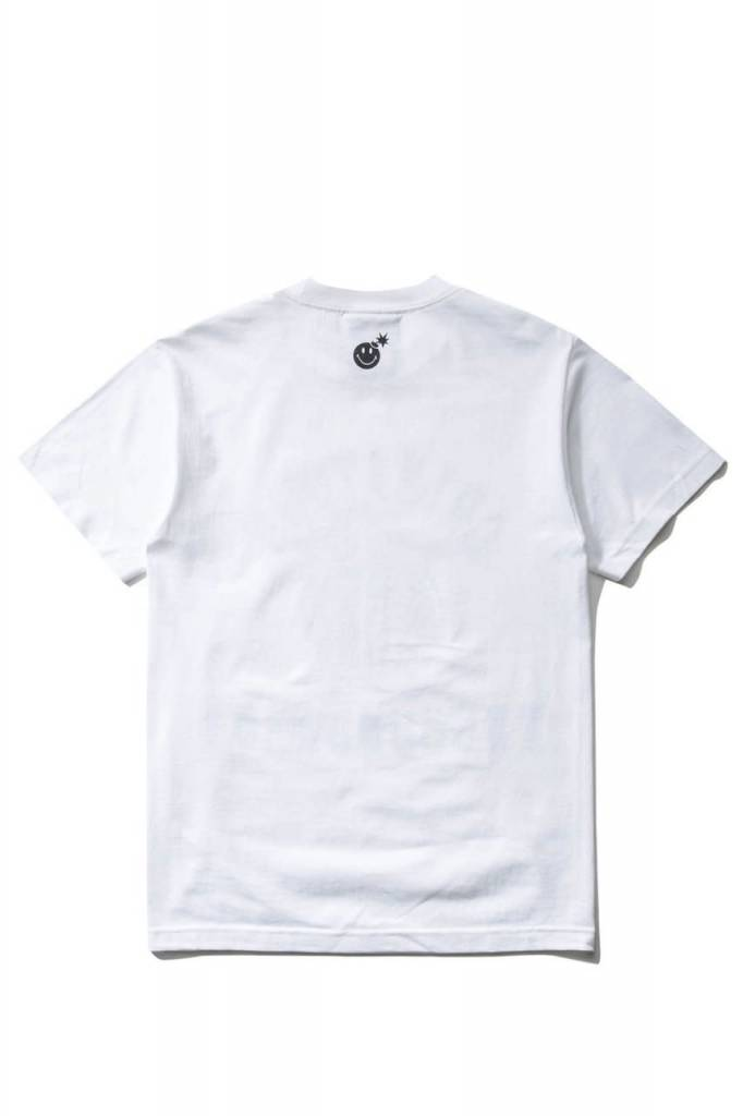 THE HUNDREDS Happy Adam T-shirt White