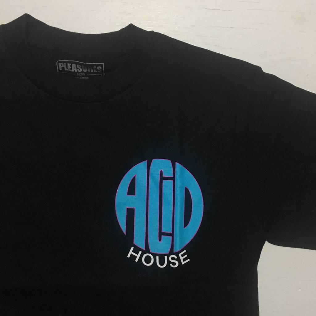 PLEASURES Acid House T-Shirt Black