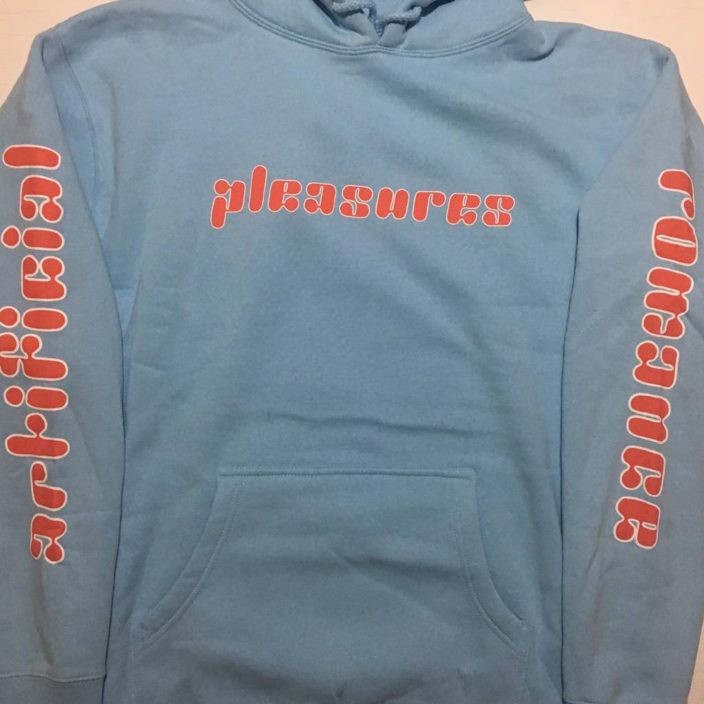 PLEASURES Romance Hoody Blue