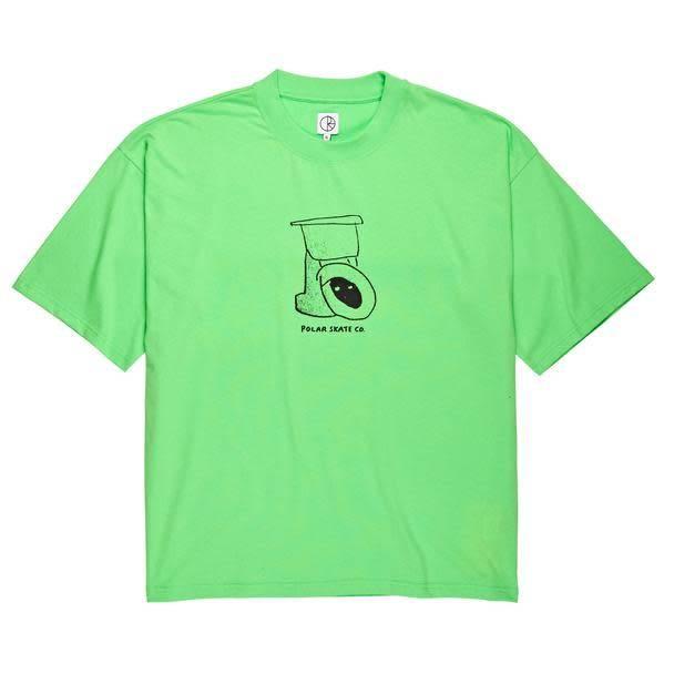 POLAR SKATE CO. Tiolet Surf T-Shirt Green