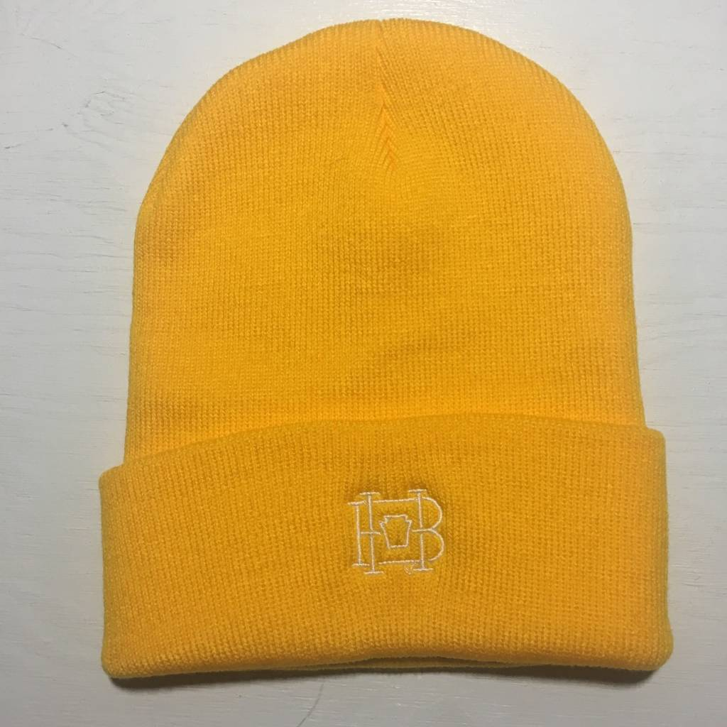 HOMEBASE SOFTGOODS Lock & Key Beanie Yellow