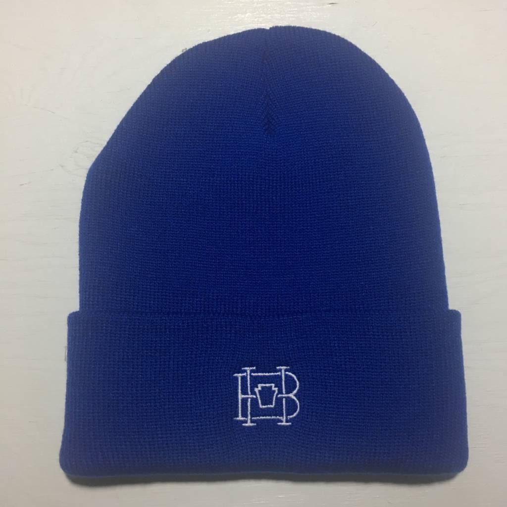 HOMEBASE SOFTGOODS Lock & Key Beanie Royal Blue