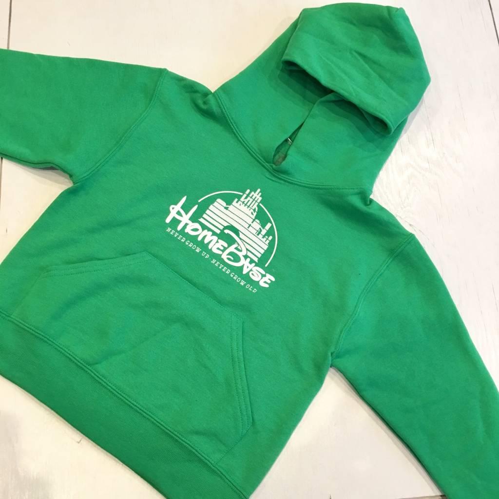HOMEBASE SOFTGOODS Kids Magic Castle Pullover Hoody Green