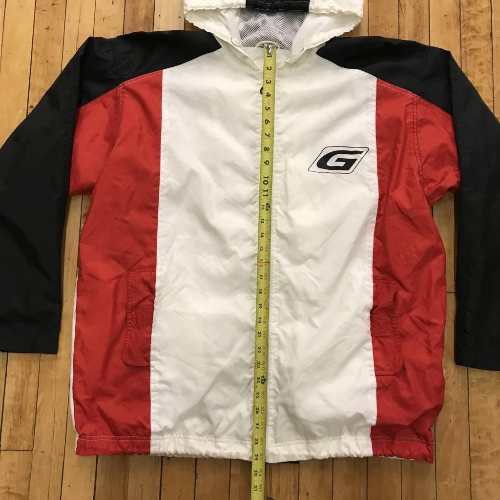 2ND BASE VINTAGE VINTAGE Guess Vertical Spell Out Track Jacket LG