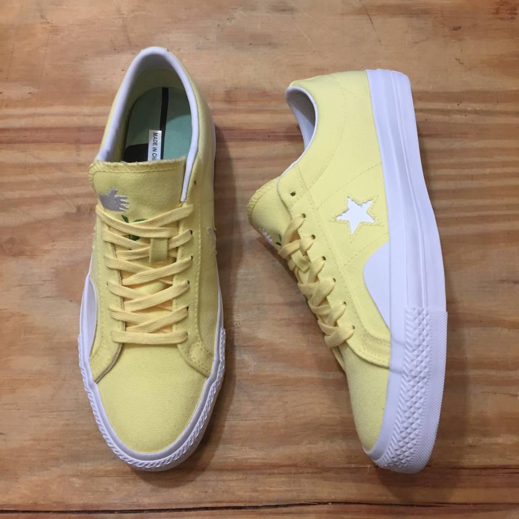 Converse x Chocolate One Star Pro Shoe Yellow