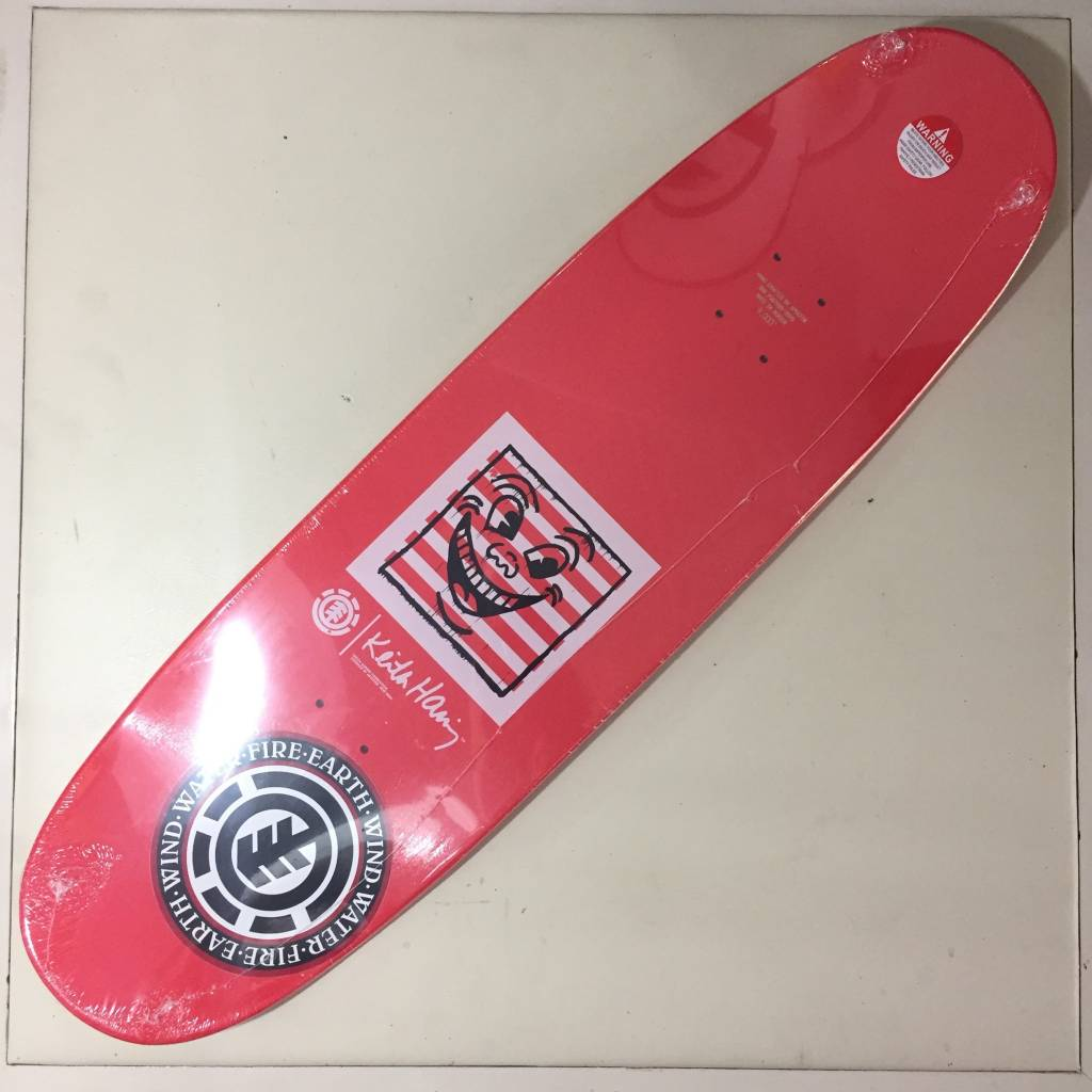 ELEMENT Element x Keith Haring Deck 1990 Shape 9.0