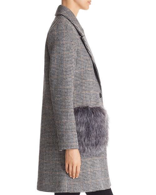Kendall and Kylie Faux Fur Pocket Coat