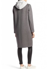 Kendall and Kylie Pinstripe Wool Coat