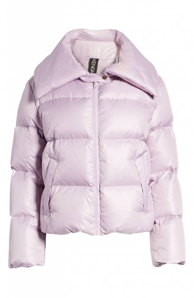 Kendall and Kylie Kendall & Kylie Vegan Puffer Coat