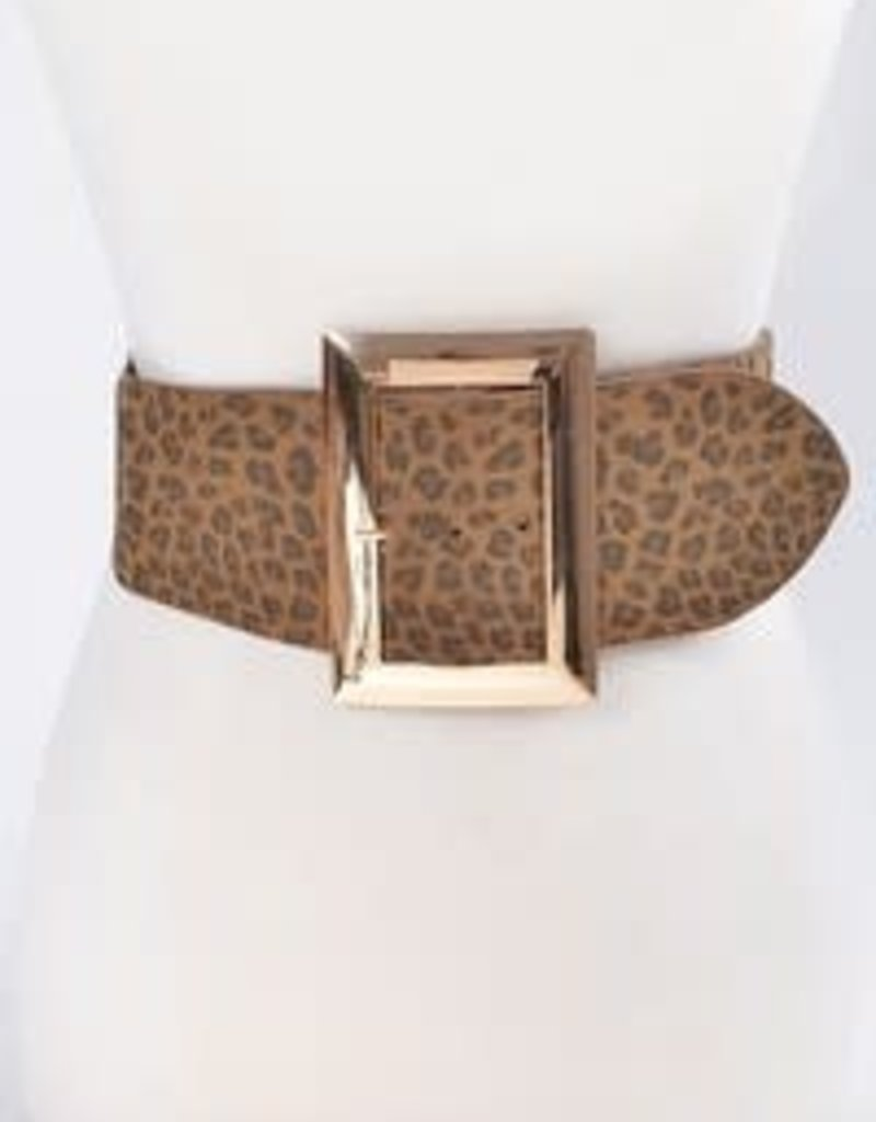 Bag Boutique Leopard Belt