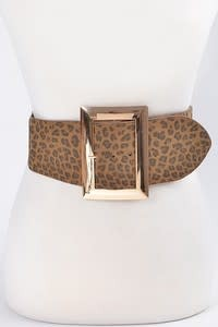 Bag Boutique Leopard Belt