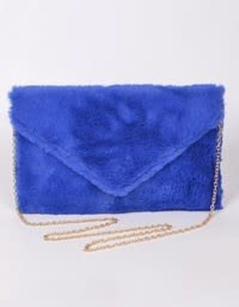 Bag Boutique Fun Fur Clutch