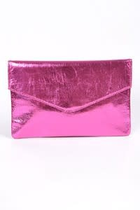 Bag Boutique Foil Clutch