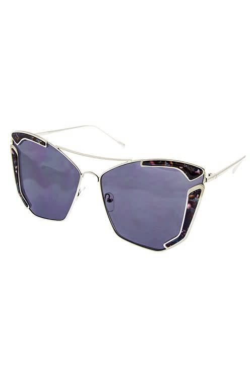 Ocean & Land Oversized Butterfly Sunglasses