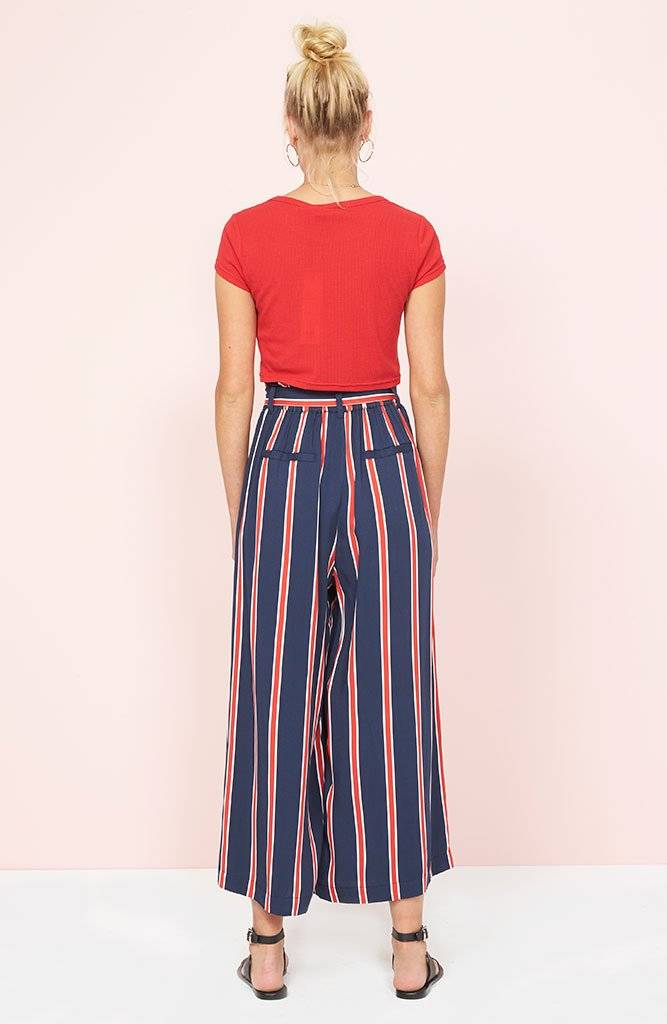 Mink Pink Quadrant Cropped Trousers