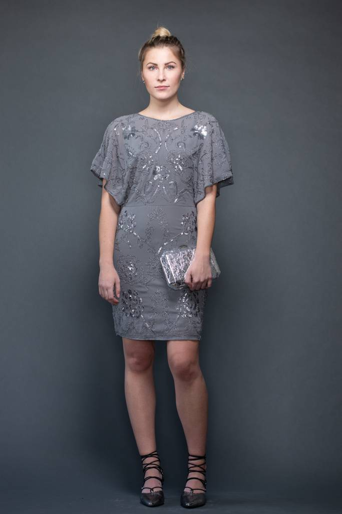 Molly Bracken Molly Bracken Beaded Dress