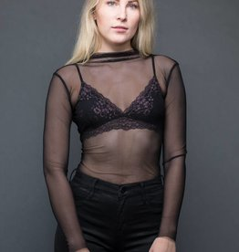 Molly Bracken Sheer Top