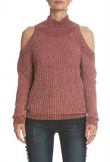 Elan Shoulder Cut Out Sweater