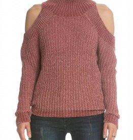 Elan Shoulder Cut Out Sweater