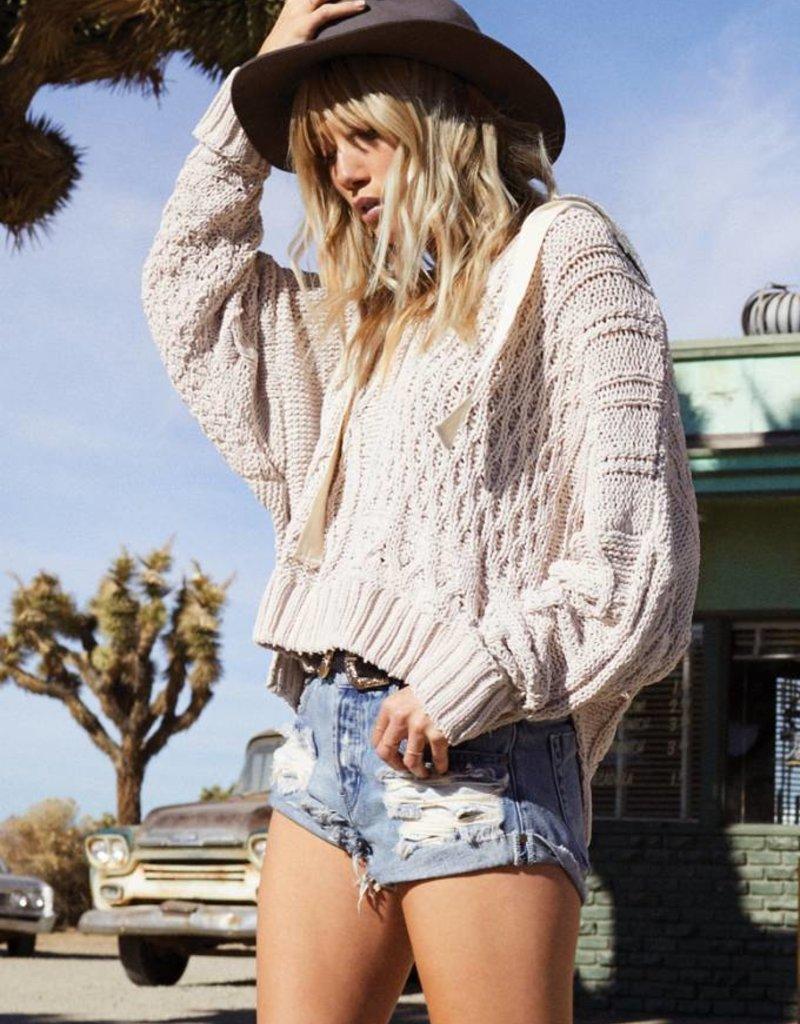 Elan Fleece Hood Pullover