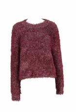 Mink Pink Metallic Knit Sweater