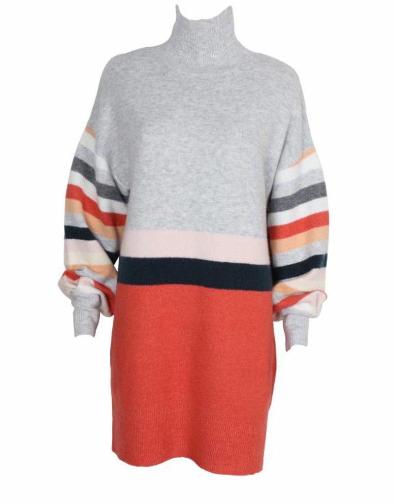 Mink Pink Eva Oversize Knit Dress