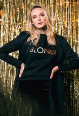 Brunette Blonde Crew Gold
